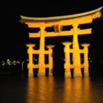 2015秋-広島・宮島・夜の厳島神社